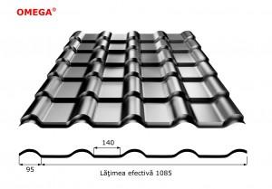 Tigla metalica Omega Image