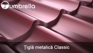 Tigla metalica Roofart Umbrella Classic Image