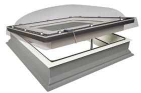 Fereastra Fakro DEC-C si DEC-M pentru acoperisuri terasa actionata electric Image