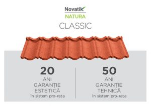 Tigla metalica Novatik Natura Classic Image