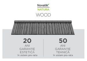 Tigla metalica Novatik Natura Wood Image