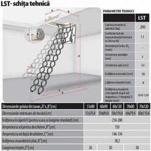 Scara-pantograf-LST-fakro-cluj-napoca-sistemat-quality