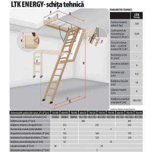 Schita-tehnica-scara-modulara-fakro-LTK-energy-cluj-napoca-sistemat-quality