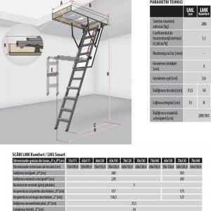 schita-tehnica-LMK-komfort-scara-modulara-metalica-fakro-cluj-napoca-sistemat-quality
